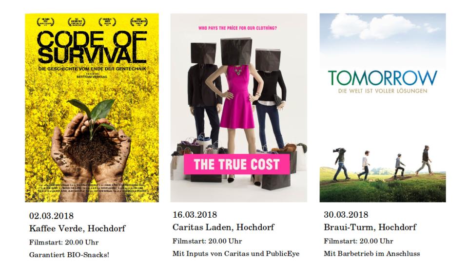 Die Welt ist WandelBar – Filmreihe in Hochdorf am 02. März