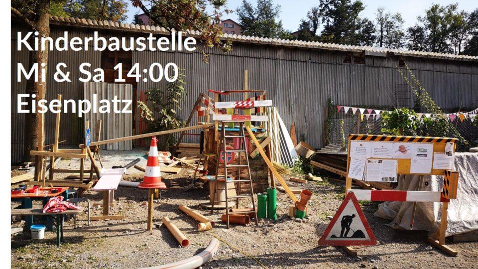 Kinderbaustelle & Eisenplatztag