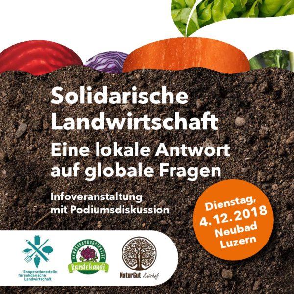 Infoveranstaltung zu solidarischer Landwirtschaft
