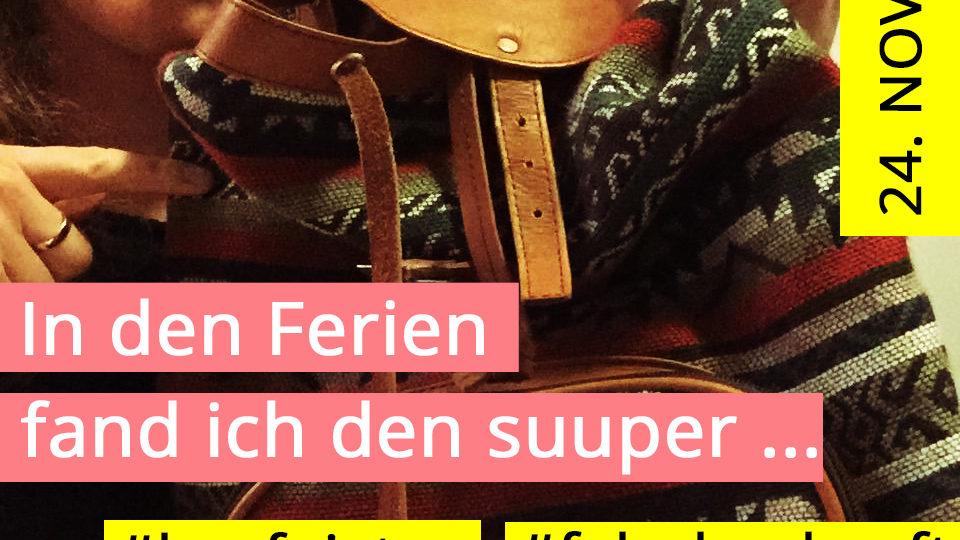 Aktion Kauf-Nix-Tag in Luzern mit Public Eye