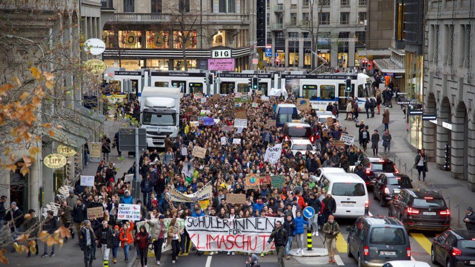 Klimastreik Luzern 18. Januar