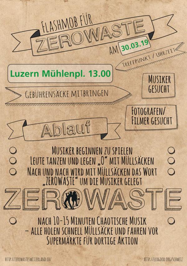 Flashmob für Zerowaste