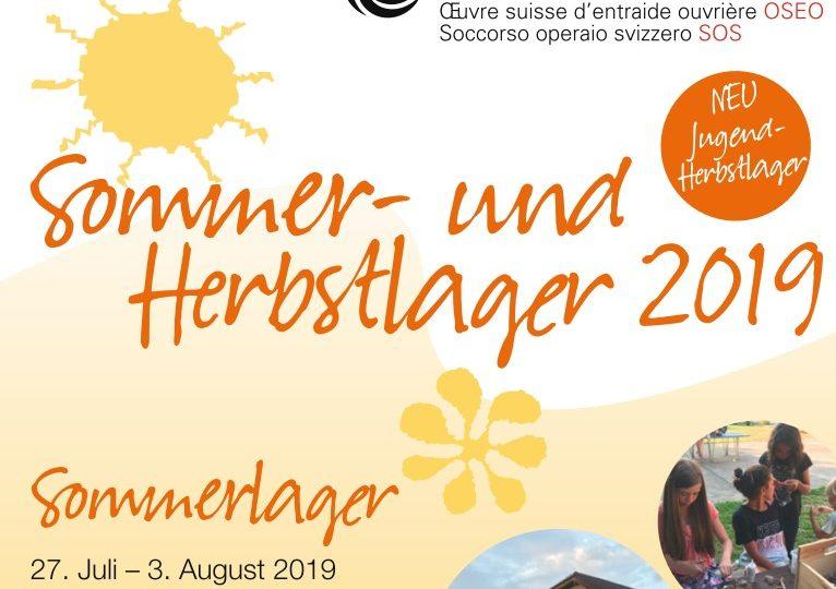 Sommerlager für Kinder im Eigenthal