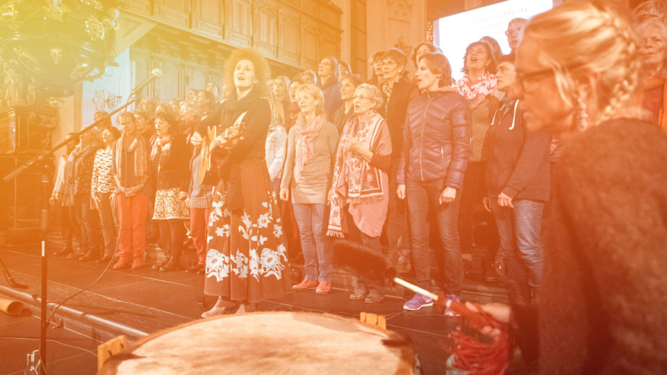 Offenes Singen mit dem Ritualchor
